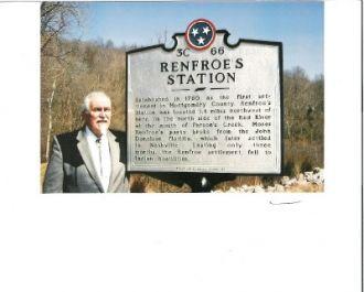 Renfroe's Station Historical Marker