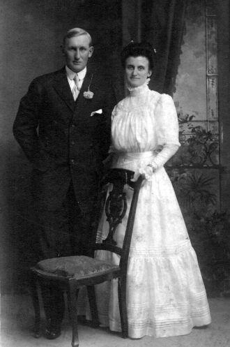 John and Emma Jensen Wedding picture