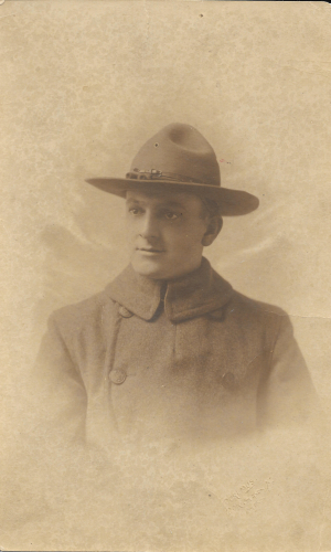 Henry Hankel Jr. Army 1917