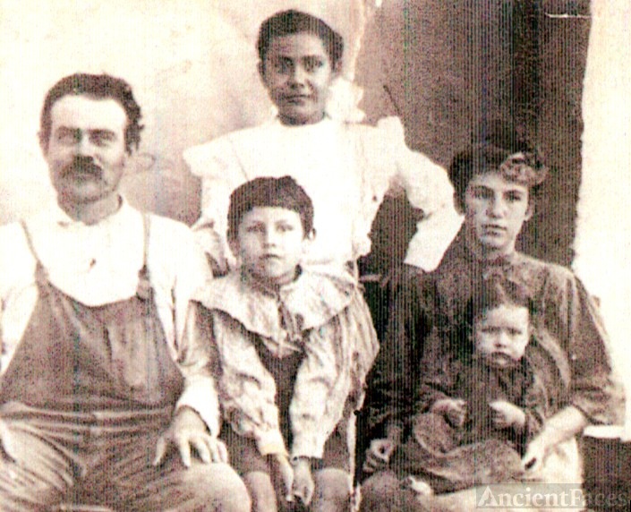 John and Jennie (McKee) Brown family
