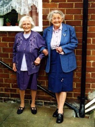 Eunice Bowman & Harriet Dixon