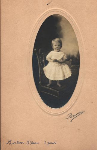 Gordon Olson, 1 Year