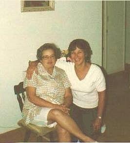 Helen Galgoczi Horvath and neice, Nadine