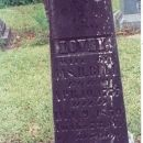 "Headstone of Frelove ""Lovey"" Campbell Bull"