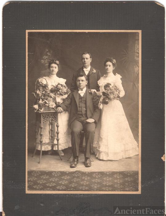 Wedding of George C.E. Goddard