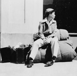 Japanese-American Boy San Francisco 1942