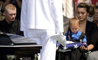 Jonathan Blunk funeral, Colorado