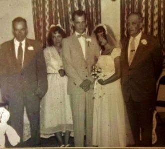 Myron Barber Johnson wedding