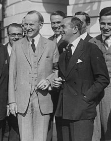 Al Jolson with President Calvin Coolidge