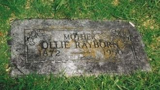 Ollie Mansker Rayborn Hensley Gravesite