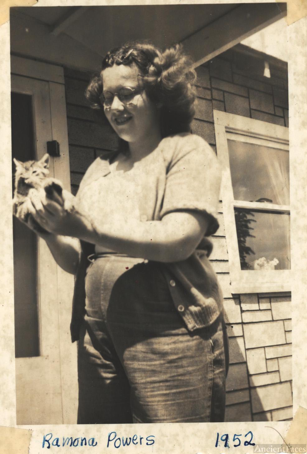 Ramona Powers 1953