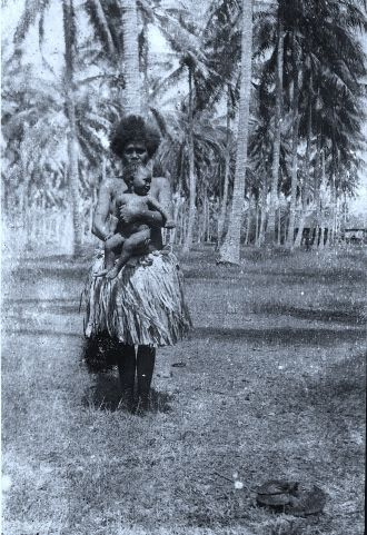 Island natives, Papua New Guinea