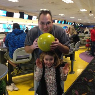 Rich Crawn and niece Amelia Linn