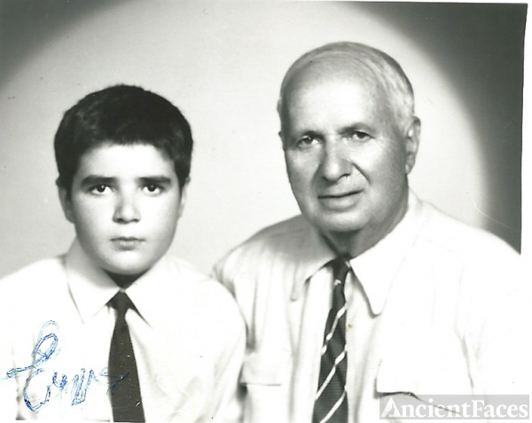Andreas Anest & father