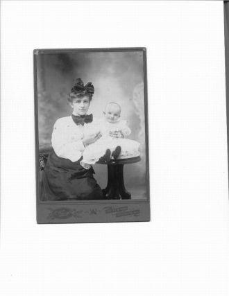 William J Newcomb baby 1903
