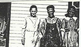 Thelma Railing, John Edwin Carr, & Doris Railing