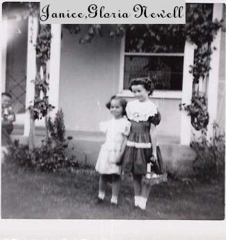 JANICE AND GLORIA NEWELL