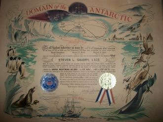 Steven Gaudry's Domain of the Antarctic