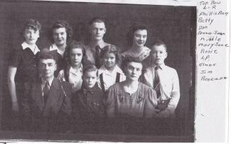 Elmer Joseph Denevan Family