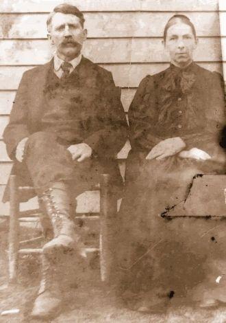 Daniel Boone Smedley And Mary Eliza ELLINGTON