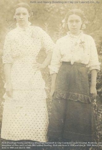 Ruth and Nancy Bowling