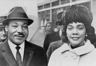 Coretta Scott & Martin Luther King 1964