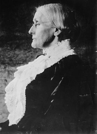 Susan B. Anthony, formal portrait