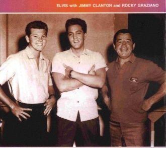 Elvis, Jimmy Clanton, & Rocky Graziano