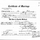 Effie (Agee) Reynolds Marriage License
