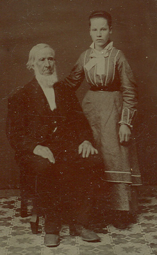 Abigail (Curtice) and Ira Youngs Culver