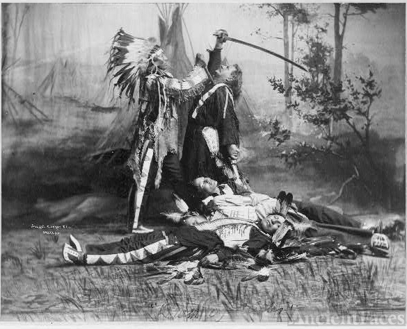 Death of Custer Reenactment