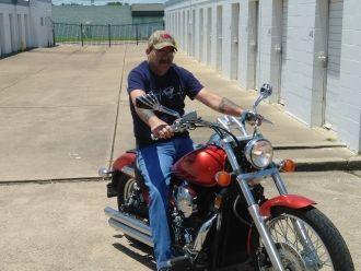 James Baskin motorcycle