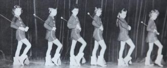 Sharon Conn, Majorette