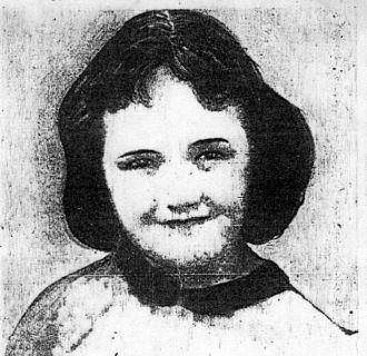 Susan Cadieux 1956