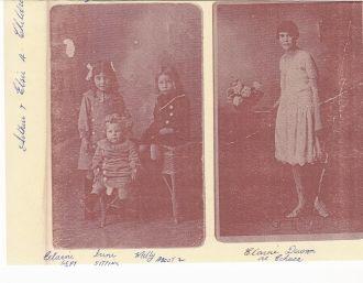 Elsie Dellar's children