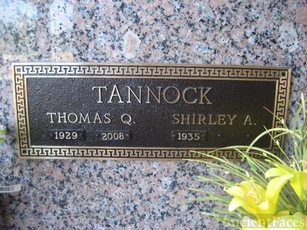 Thomas Quenton Tannock grave