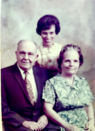 DV, Jerldene & Sadie Agnes Endledow Stone