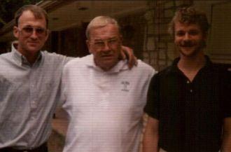 Colin, Aubrey Sr., & Aubrey Jr. Sanderson, Texas 1994