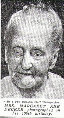 Margaret Ann  DECKER