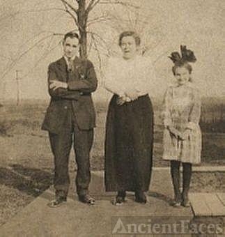 Ira, Mary and Maude Ellen Beard