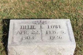 Tillie E (Farrier) Lowe