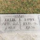 Tillie E. (Farrier) Lowe