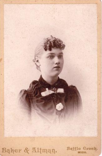 Rosa Rolf, Michigan