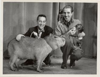 Ivan T. Sanderson and Garry Moore