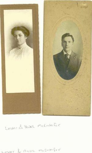 Lester and Hazel McEnterfer
