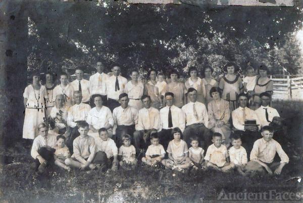 McGee Family Reunion - 1925