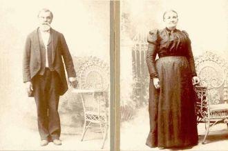 Almon and Antoinette Herrick