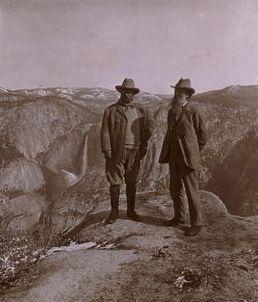 Theodore Roosevelt and John Muir
