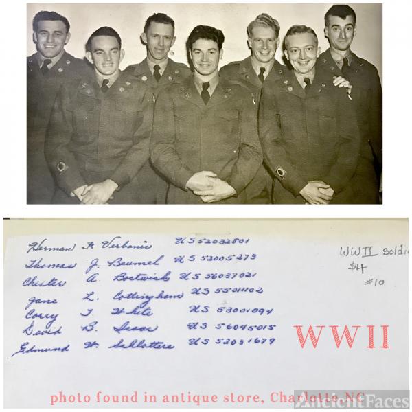 """""""WW II """" men"""