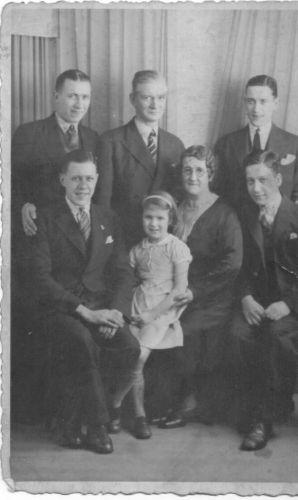 Ann & Charles Weir  family, 1936